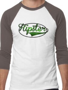 HIPSTER TEE | GREEN Men's Baseball ¾ T-Shirt