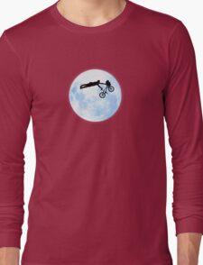 Riding the Kuwahara BMX. Like A Boss! Long Sleeve T-Shirt