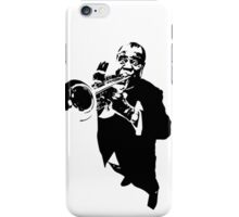 Louis Armstrong t-shirt iPhone Case/Skin