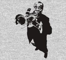 Louis Armstrong t-shirt One Piece - Long Sleeve