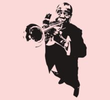 Louis Armstrong t-shirt One Piece - Short Sleeve