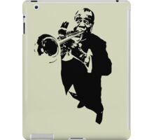 Louis Armstrong t-shirt iPad Case/Skin