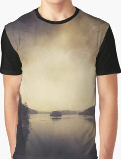 Quiet Water Graphic T-Shirt