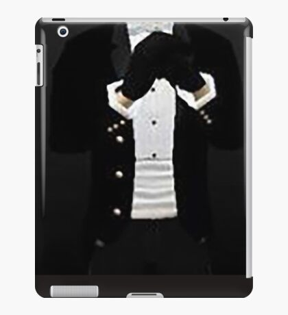 Tuexdo version 2 iPad Case/Skin