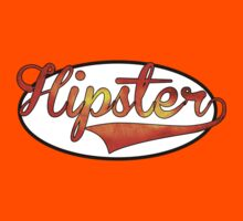 HIPSTER TEE | ORANGE by RhysDesigns94