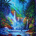 Waterfall (River of Life) by jyruff