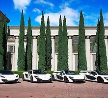 White McLaren Supercar Photoshoot by axion23