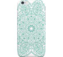 Bohemian Mandala Teal iPhone Case/Skin