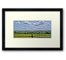 East Farleigh, Kent HDR Framed Print