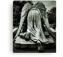 On Bended Knee Canvas Print