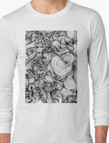 Squiggles on your iPhone - Psychedelic Art T-Shirt