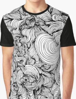 Squiggles on your iPhone - Psychedelic Art Graphic T-Shirt