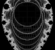 Inverted Mandelbrot I Sticker