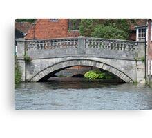 Winchester bridge Canvas Print