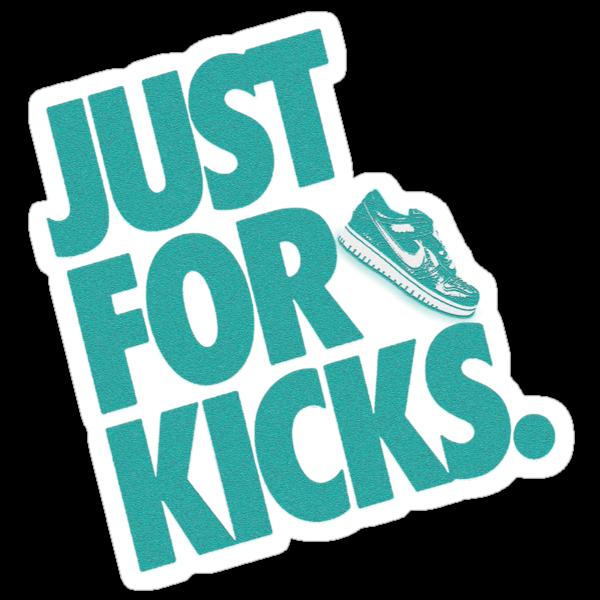 Just for kicks-Aqua by Viral5