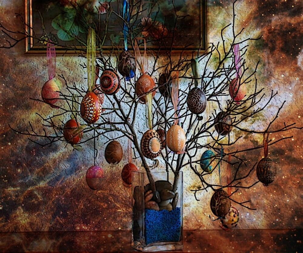 SPRING TREE BLESSINGS by Tammera