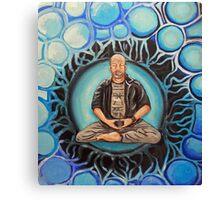 Grumpy old Dad Buddhist Canvas Print
