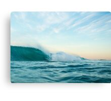 First One Out Canvas Print