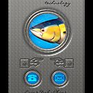 Living Fish iPhone Case by Moonlake