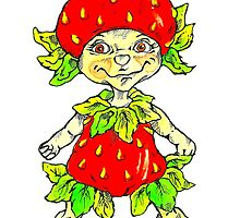 strawberry fairy  by Renata Lombard