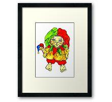 jester for a little bit of luck Framed Print