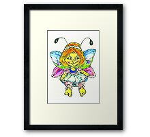 butterfly fairy Framed Print