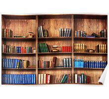 Book Shelf Poster
