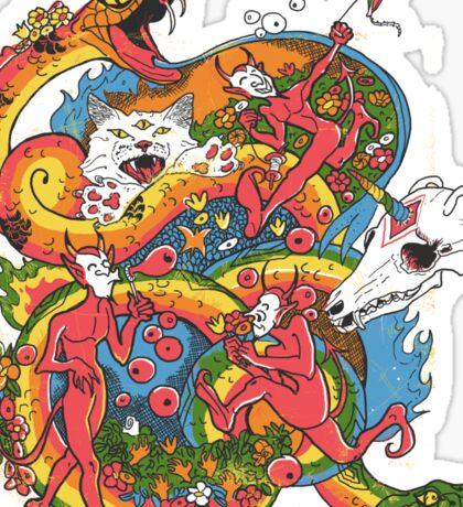 Holiday Imp Sticker