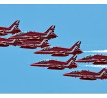 The 2015 Red Arrows  Sticker