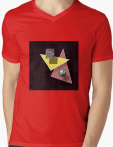 Zone 42 Mens V-Neck T-Shirt
