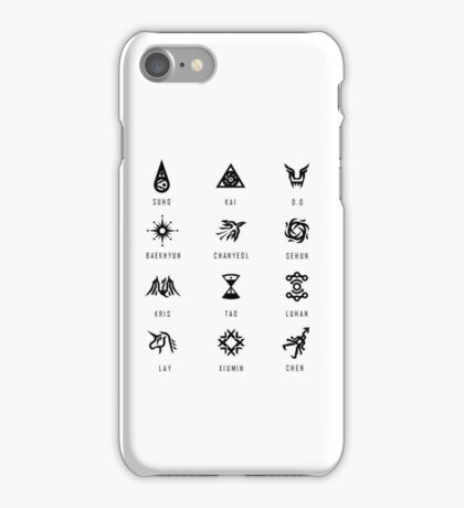EXO Symbols iPhone Case/Skin