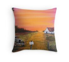 Model A Ford Truck 4 Sale Throw Pillow