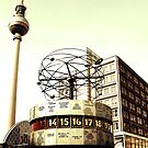 World Clock - Berlin TV tower by Falko Follert