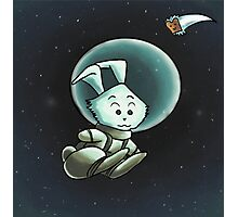 Space Bunny Photographic Print