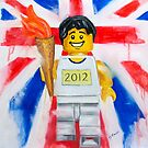 olympic torch bearer by Deborah Cauchi