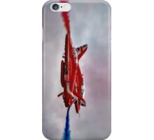 Red Arrows Painting the Sky 2015 iPhone Case/Skin