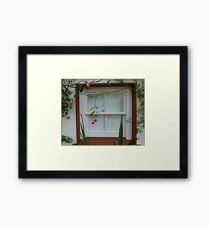A Gallery Window Framed Print