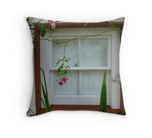 A Gallery Window Throw Pillow