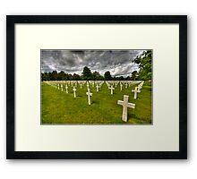 Remembering Private Ryan Framed Print