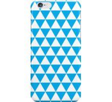 triangle waterfall (cyan) iPhone Case/Skin