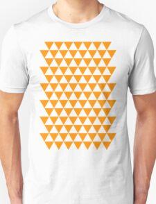 triangle waterfall (tangerine) Unisex T-Shirt