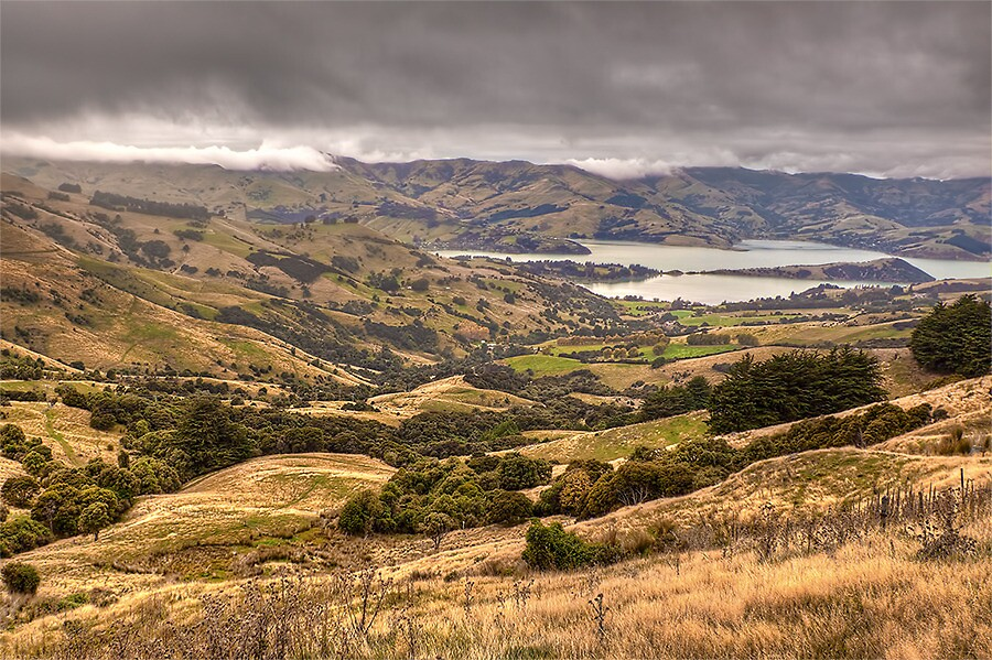 HILLS, WATER & CLOUDS by Lynden