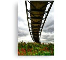 Tornado Bridge Canvas Print