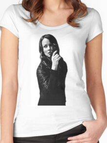 "Person of Interest ""Root""  Women's Fitted Scoop T-Shirt"