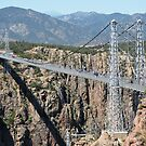 Royal Gorge Bridge in Summer  by Robert Meyers-Lussier