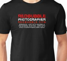 REDBUBBLE PHOTOGRAPHER Unisex T-Shirt