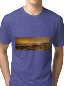 From up here I can see... Tri-blend T-Shirt