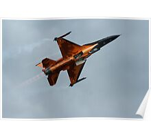 Dutch lion F-16 Poster