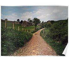 Footpath to Keld Poster