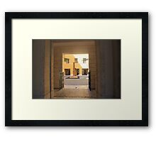 A Florence Piazza Framed Print